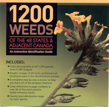 1200 Weeds Identification Guide DVD By XID Services